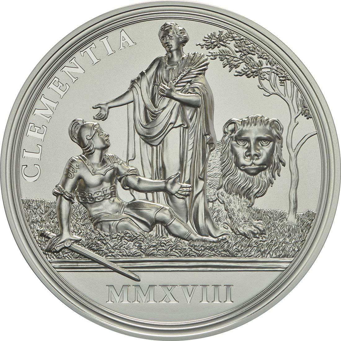 Rückseite:Österreich : 20 Euro Milde und Gottvertrauen  2018 PP
