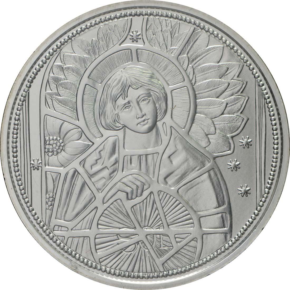 Vorderseite:Österreich : 10 Euro Uriel - der Lichtengel  2018 Stgl.