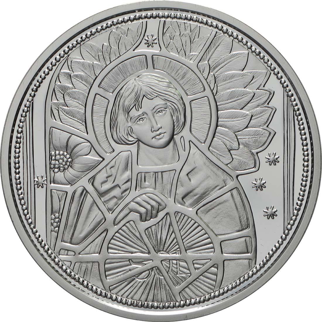 Vorderseite:Österreich : 10 Euro Uriel - der Lichtengel  2018 PP