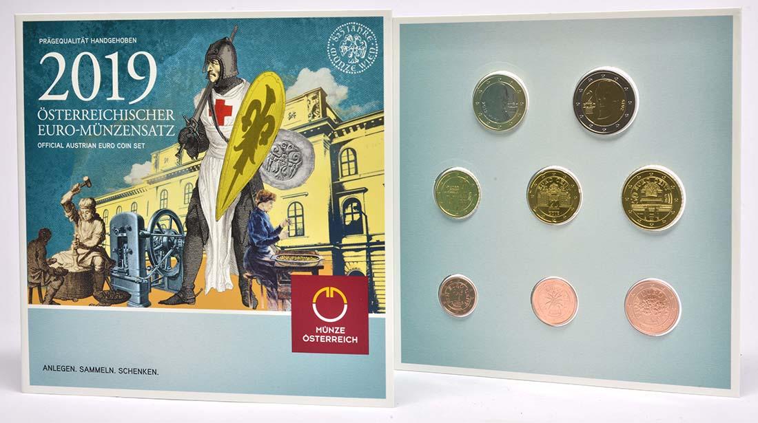 Übersicht:Österreich : 3,88 Euro KMS Österreich  - 825 Jahre Münze Wien  2019 Stgl.