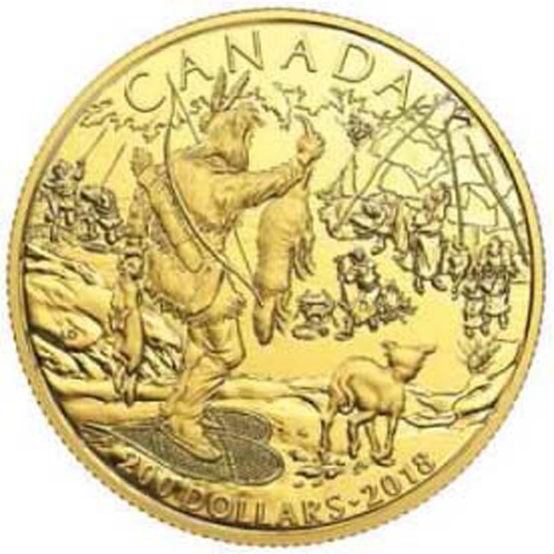 Kanada : 200 Dollar Kanadische Geschichte - First Nations  2018 PP