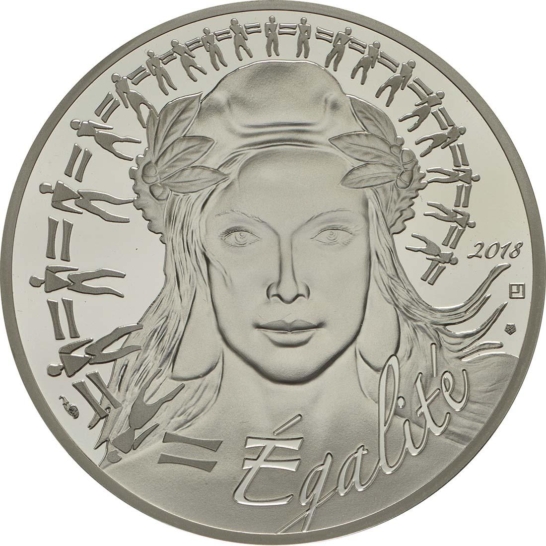 Vorderseite :Frankreich : 20 Euro Marianne  2018 PP