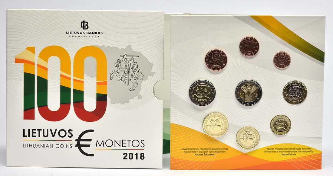 Litauen : 5,88 Euro KMS Litauen 100 Jahre Unabhängigkeit  2018 Stgl.
