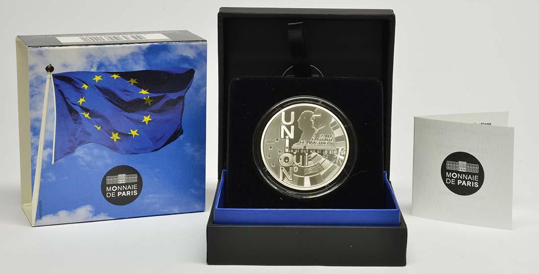 Frankreich : 10 Euro Vertrag von Maastricht  2018 PP