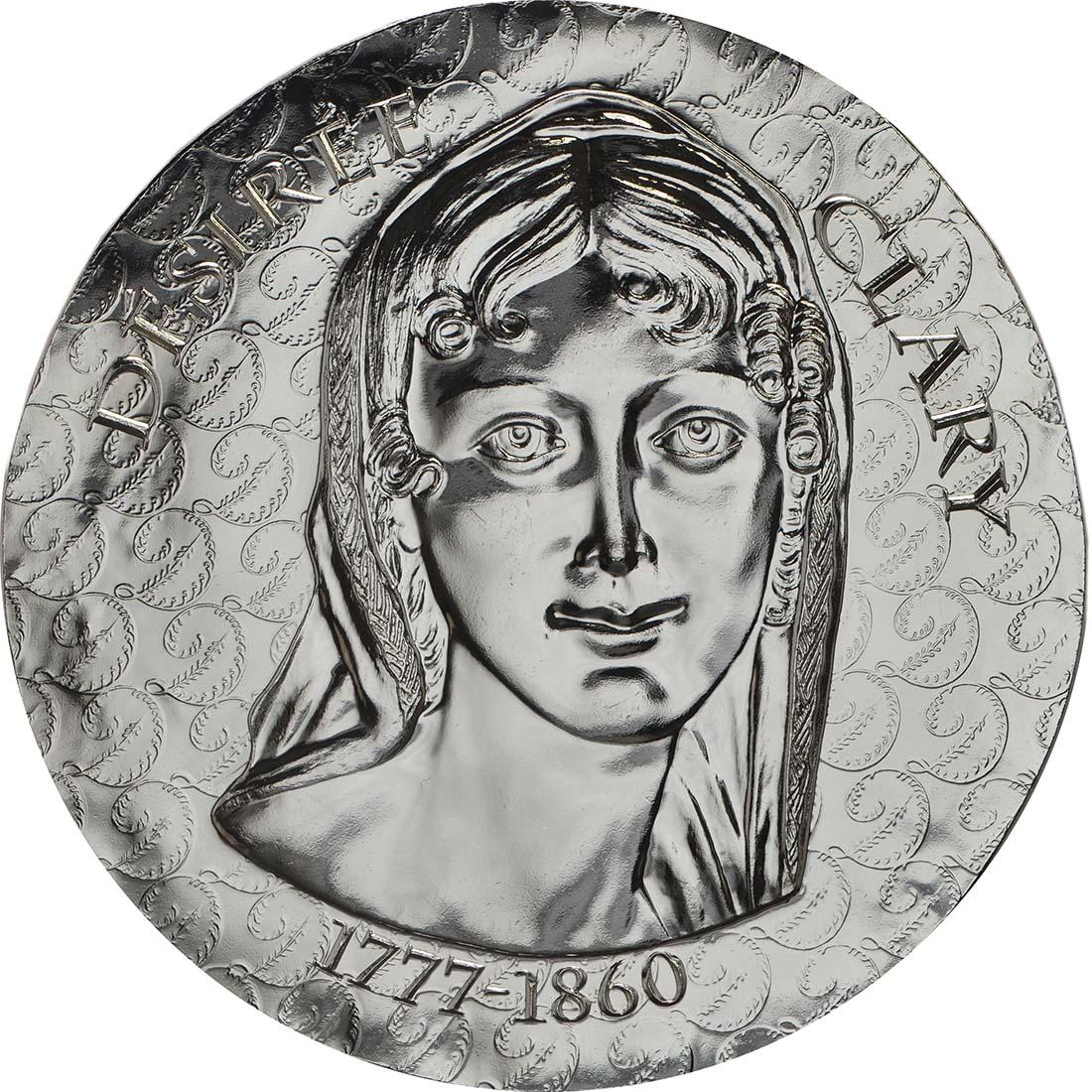 Vorderseite :Frankreich : 10 Euro Désirée Clary  2018 PP