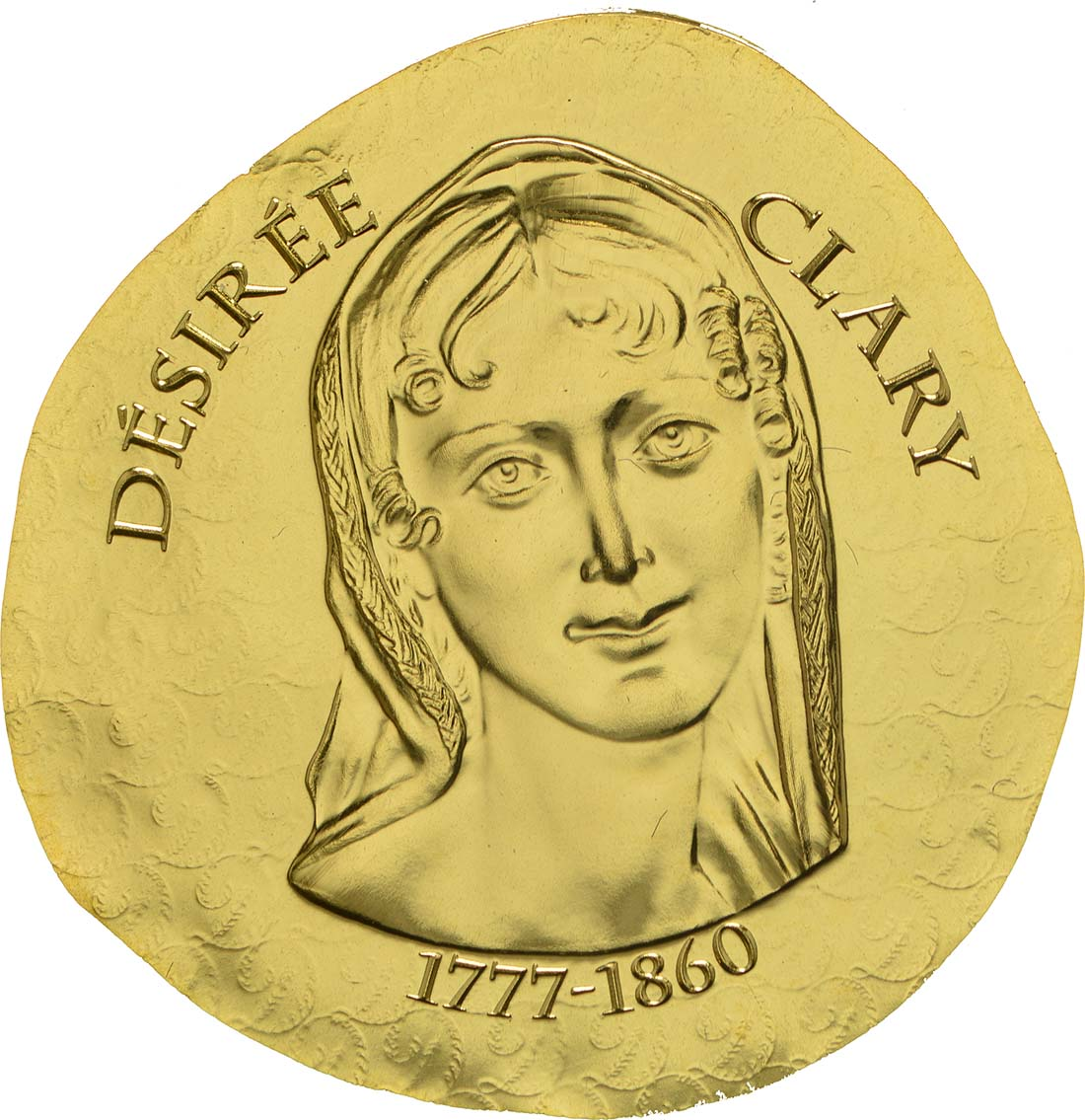 Vorderseite :Frankreich : 50 Euro Désirée Clary  2018 PP