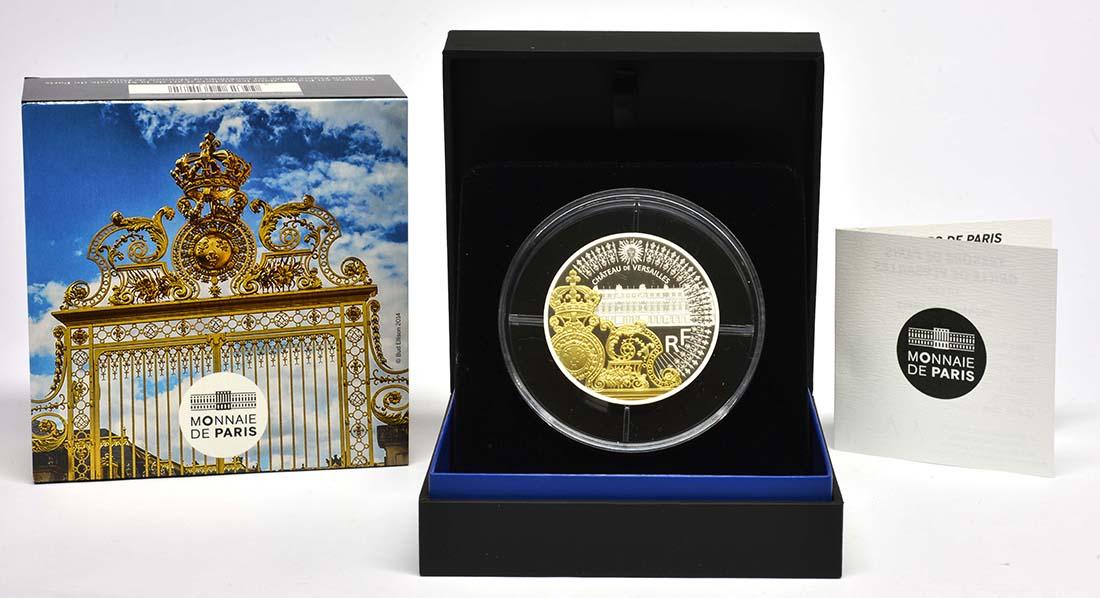 Frankreich : 50 Euro Tor des Schlosses von Versailles  2018 PP