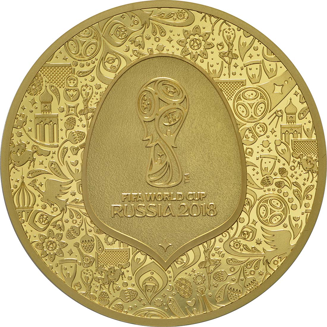 Vorderseite:Frankreich : 200 Euro FIFA Fußball WM  2018 PP