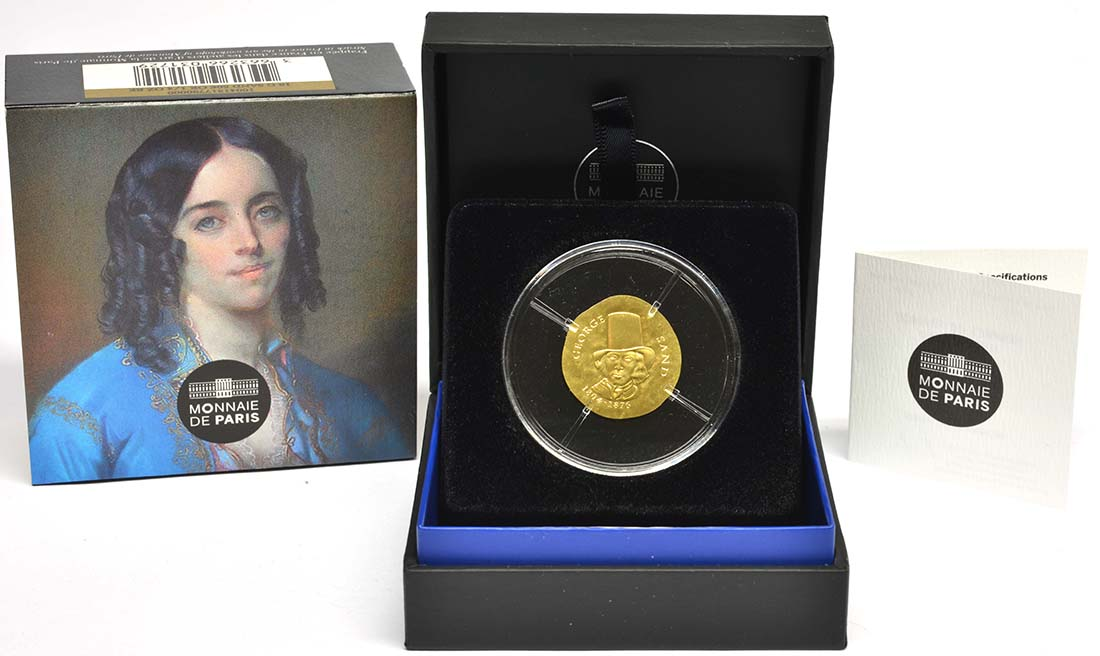 Frankreich : 50 Euro George Sand / Frederic Chopin  2018 PP