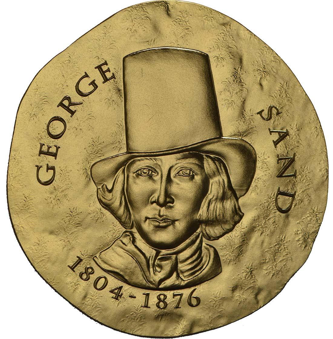 Vorderseite:Frankreich : 50 Euro George Sand / Frederic Chopin  2018 PP