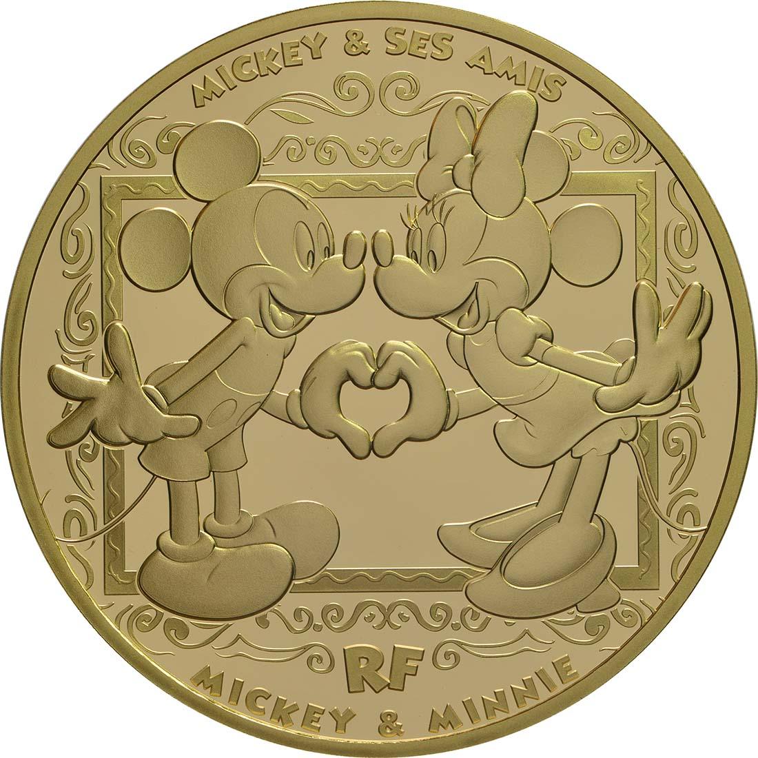 Vorderseite:Frankreich : 200 Euro Mickey und seine Freunde  2018 PP