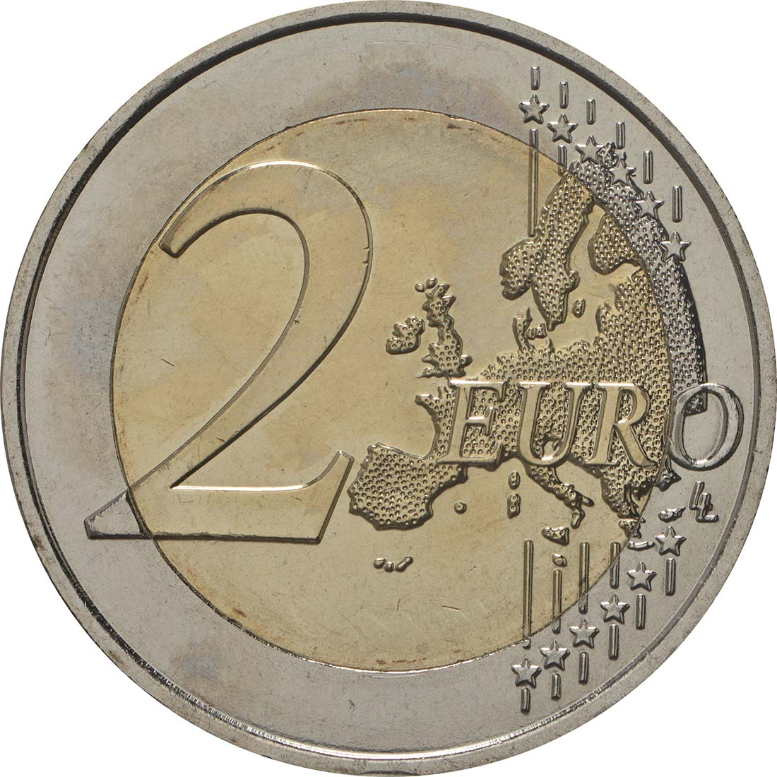 Vorderseite:Frankreich : 2 Euro Simone Veil  2018 bfr