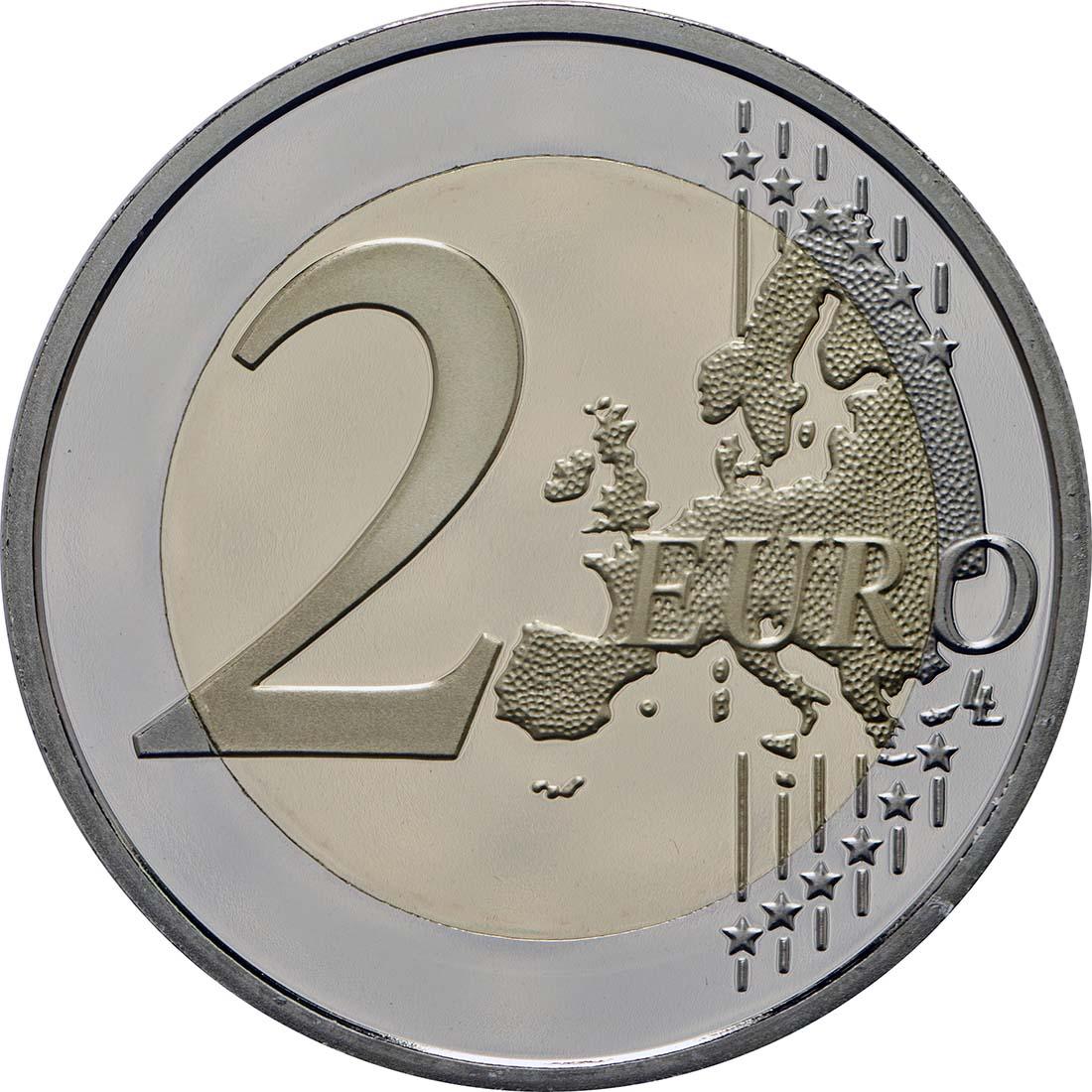 Vorderseite:Frankreich : 2 Euro Simone Veil  2018 PP