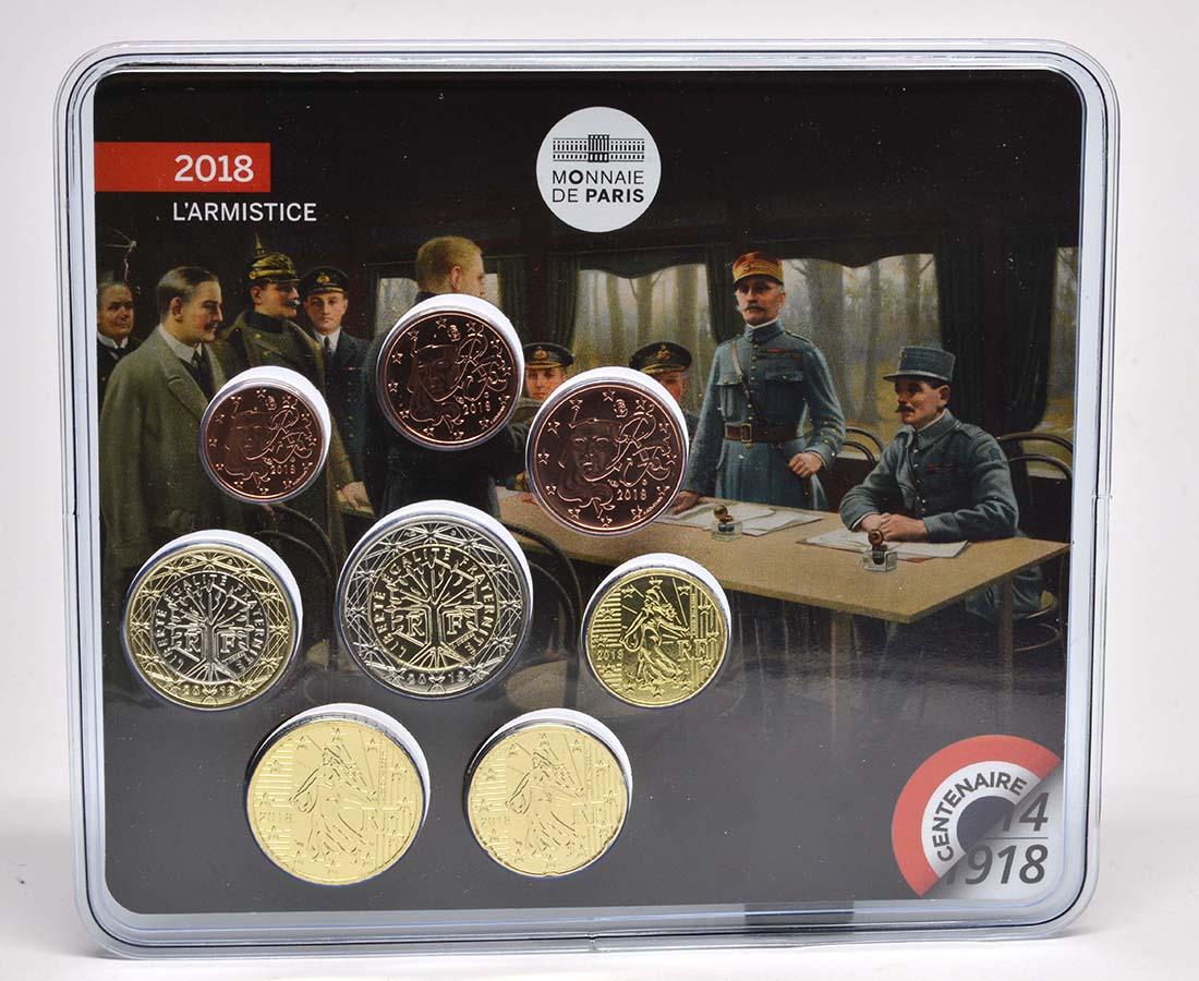 Lieferumfang:Frankreich : 3,88 Euro Mini KMS Erster Weltkrieg  2018 Stgl.