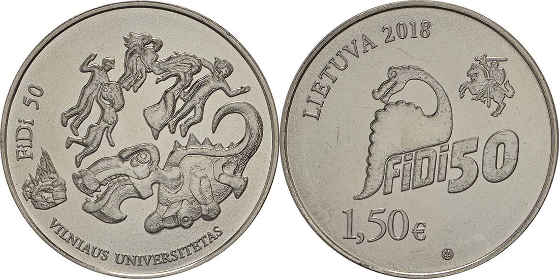 Litauen : 1,5 Euro Tag der Physik an der Universität Vilnius  2018 bfr