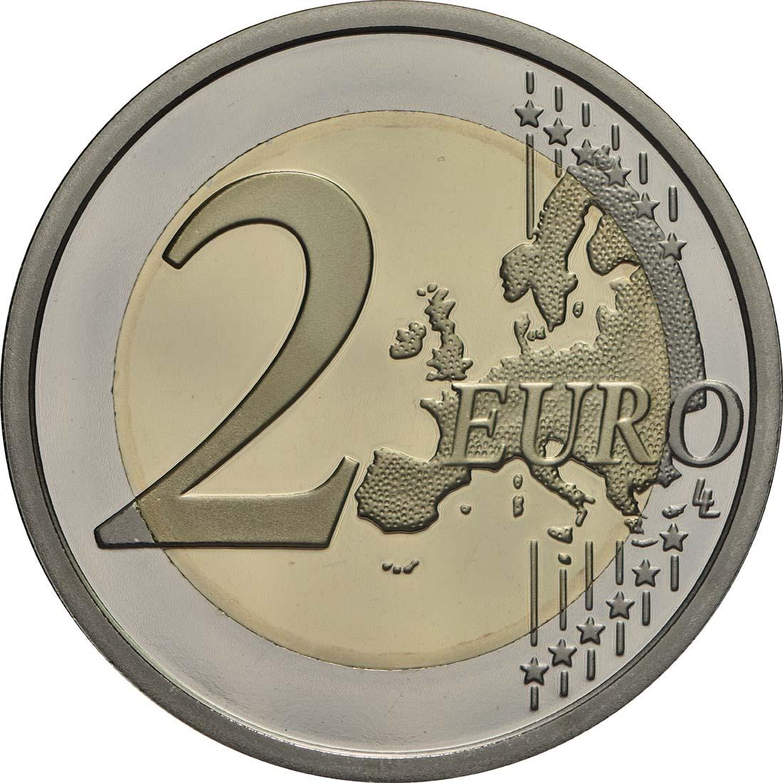 Vorderseite:Vatikan : 2 Euro 50. Jahrestag des Todes von Pater Pio  2018 PP