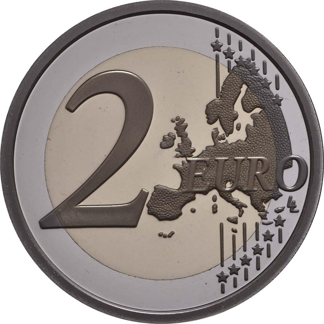 Vorderseite:Vatikan : 2 Euro Europäisches Jahr des Kulturerbes  2018 PP