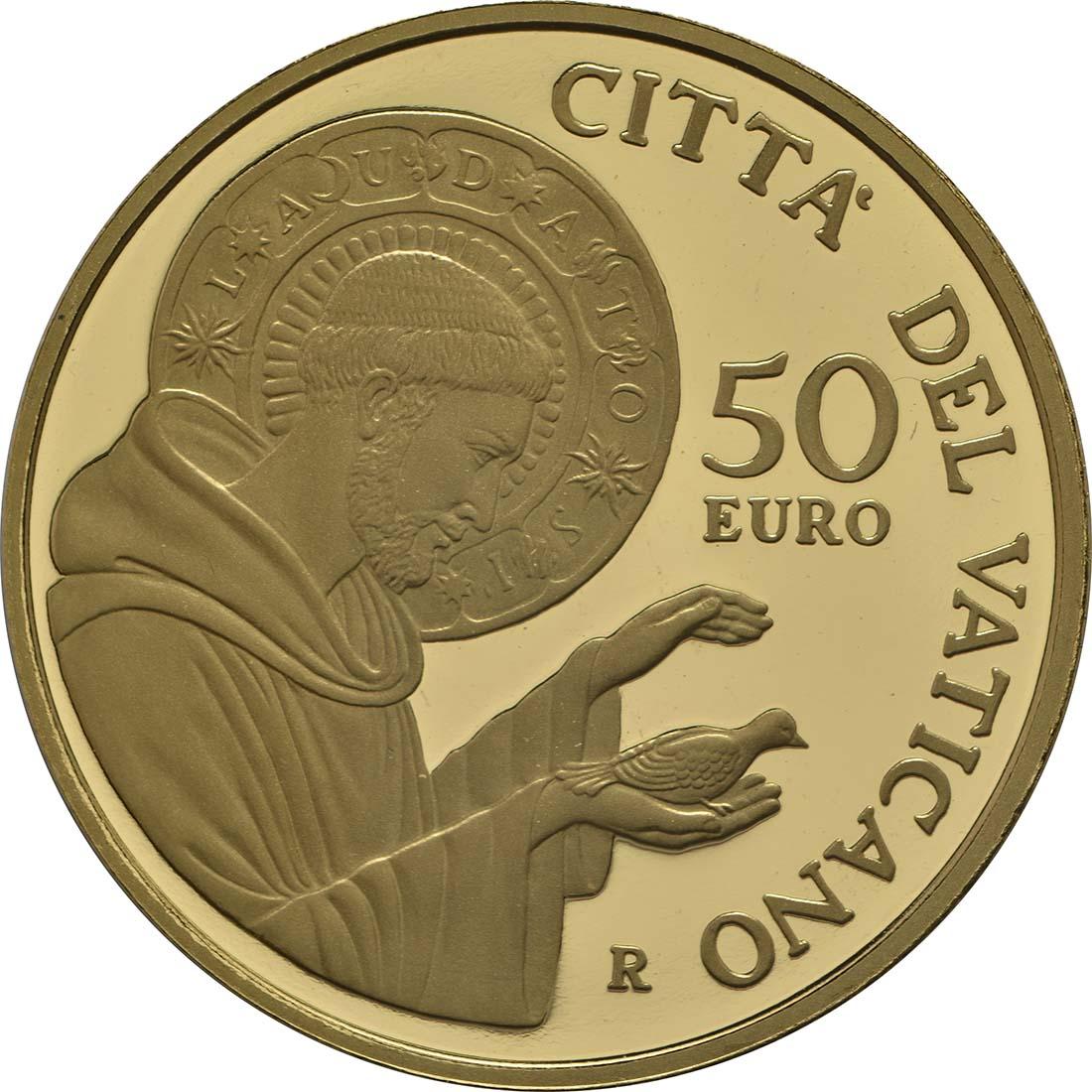 Vorderseite :Vatikan : 53,88 Euro KMS Vatikan mit 50 Euro Gedenkmünze  2018 PP