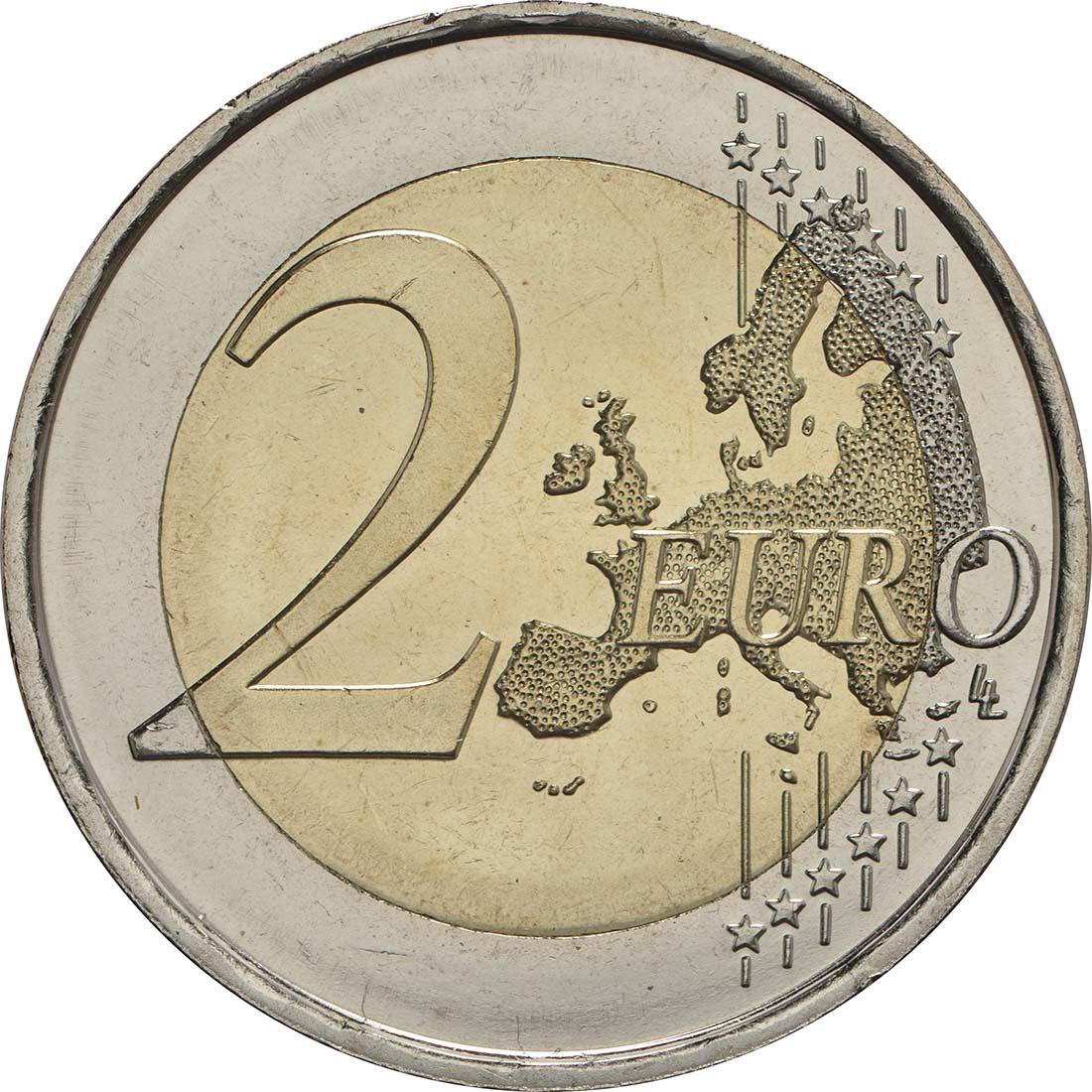Vorderseite :Spanien : 2 Euro Santiago de Compostela  2018 bfr
