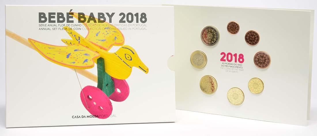 Portugal : 3,88 Euro KMS Portugal Baby  2018 bfr