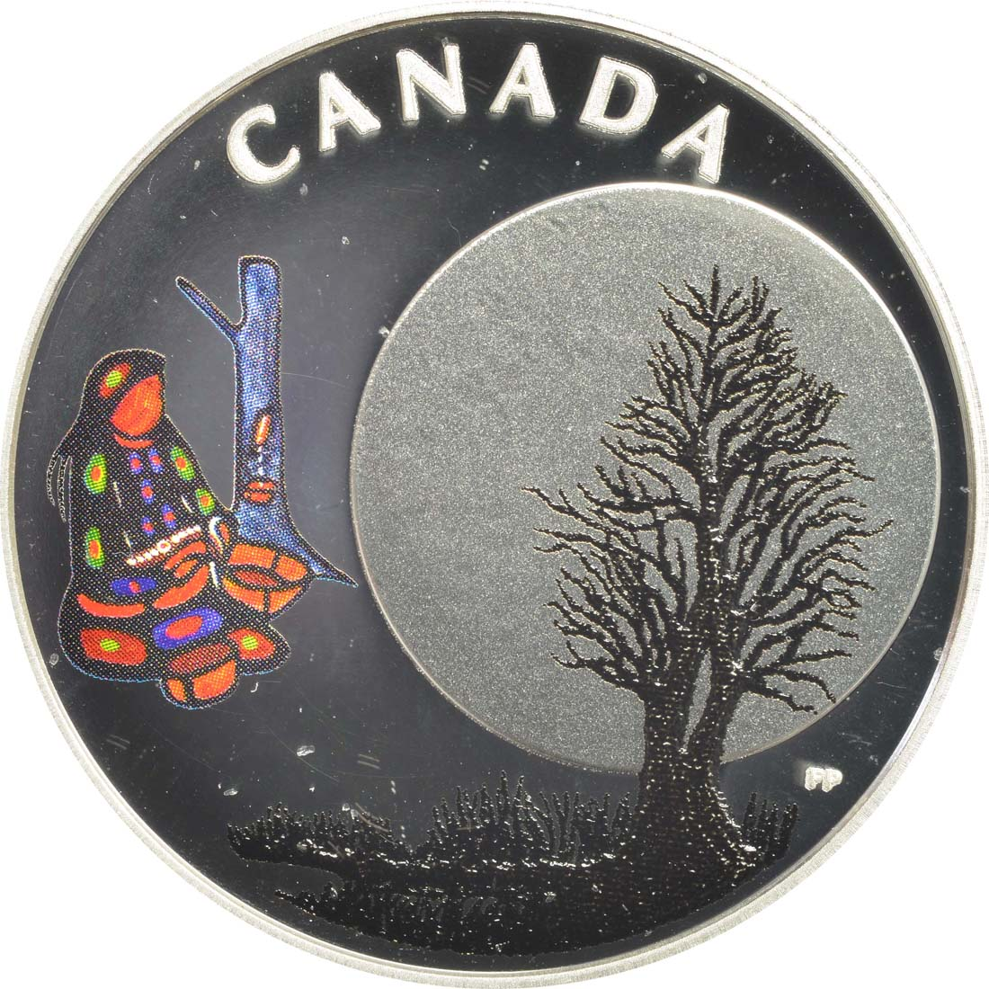 Vorderseite:Kanada : 3 Dollar Sugar Moon - Die 13 Lehren von Grandmother Moon  2018 PP