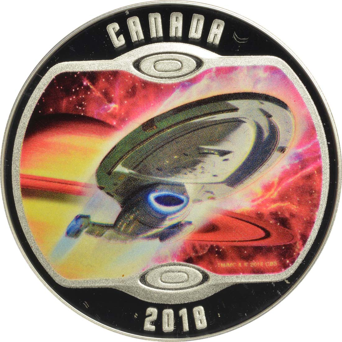 Vorderseite :Kanada : 10 Dollar Star Trek - Voyager  2018 PP