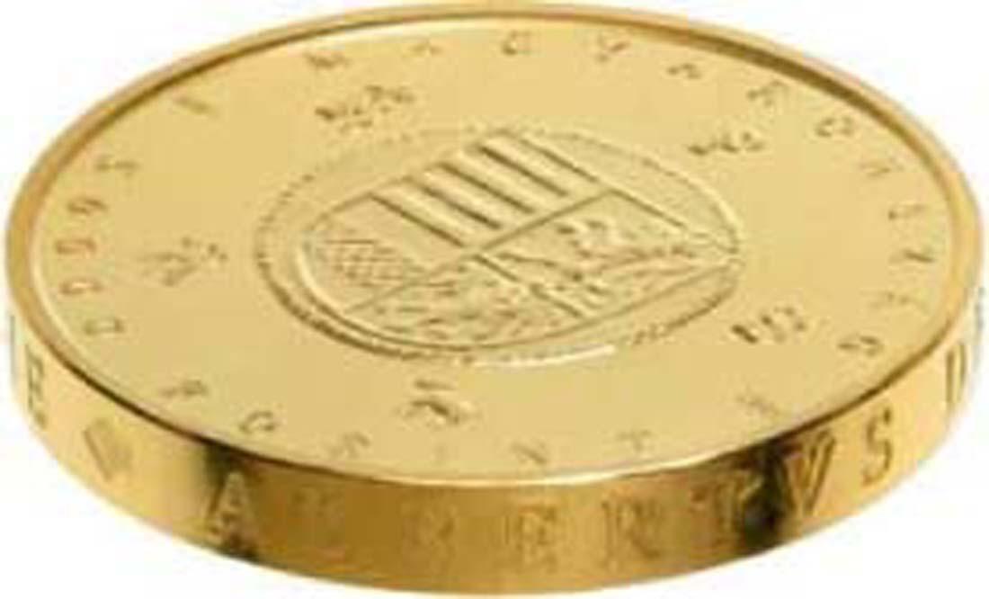 Ungarn : 50000 Forint Goldflorin von Albert von Habsburg - Piedfort  2018 Stgl.