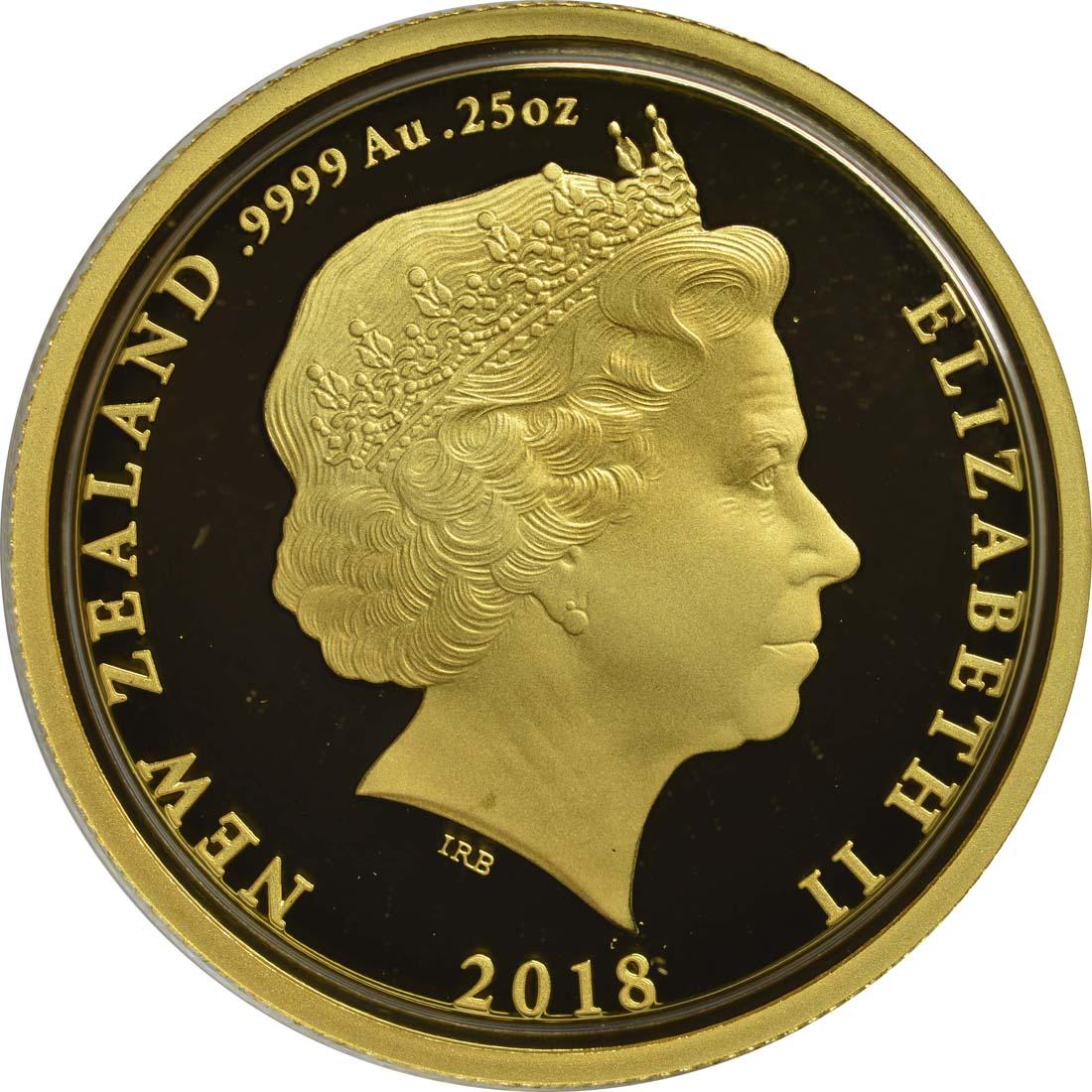 Rückseite:Neuseeland : 10 Dollar Return Home - Die Heimkehr - WW1  2018 PP