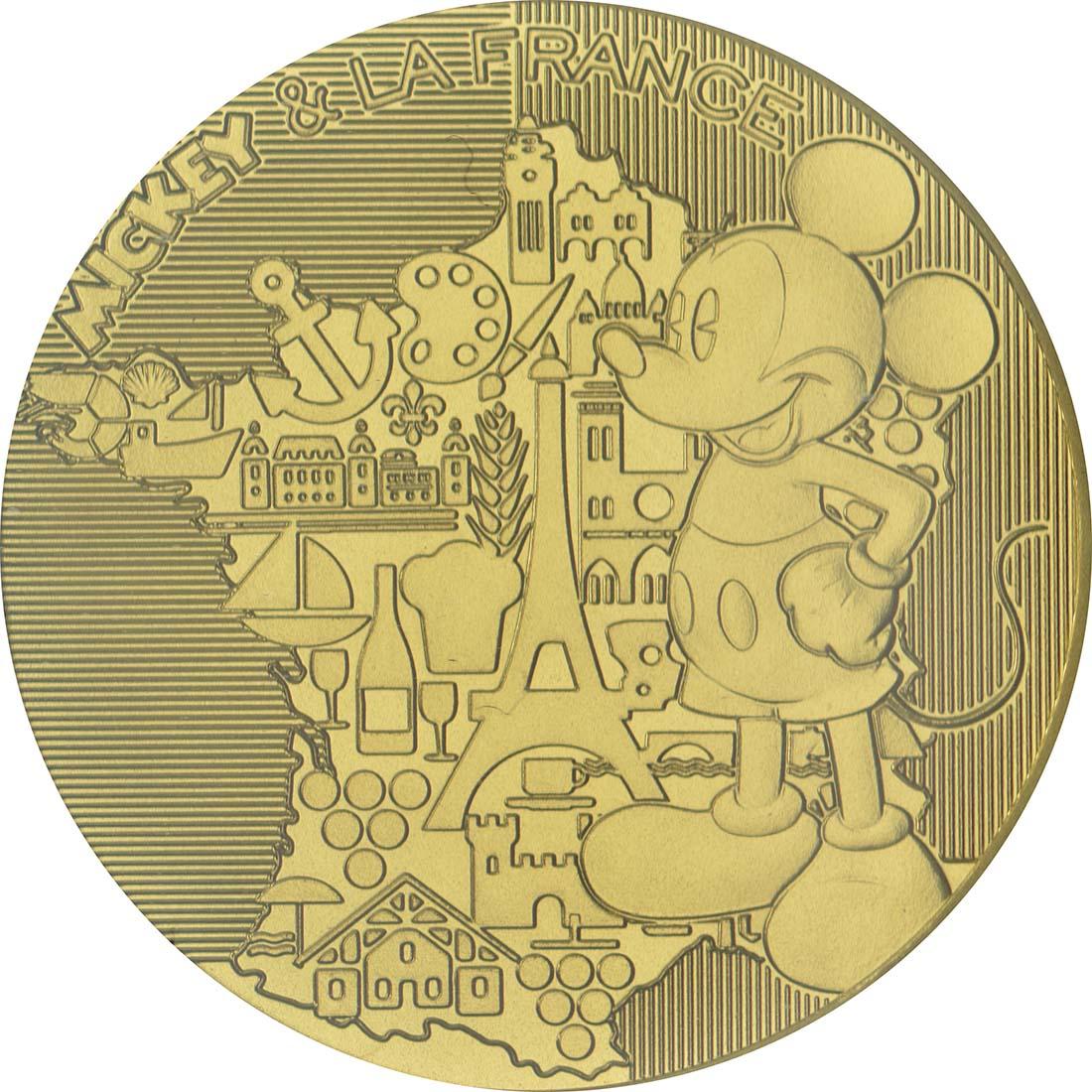 Vorderseite :Frankreich : 200 Euro Micky  2018 bfr