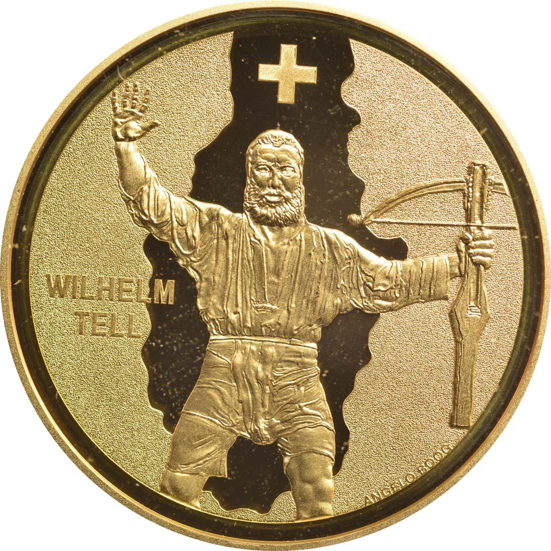 Vorderseite:Schweiz : 50 Franken Wilhelm Tell  2018 PP