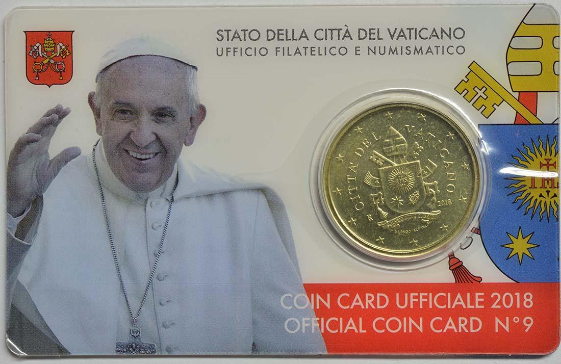 Lieferumfang:Vatikan : 50 Cent   2018 bfr