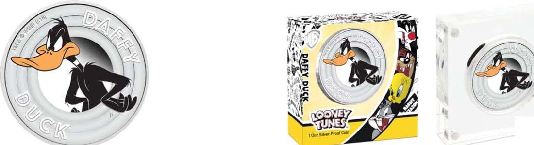 Tuvalu : 50 Cent Daffy Duck - Looney Tunes  2018 PP
