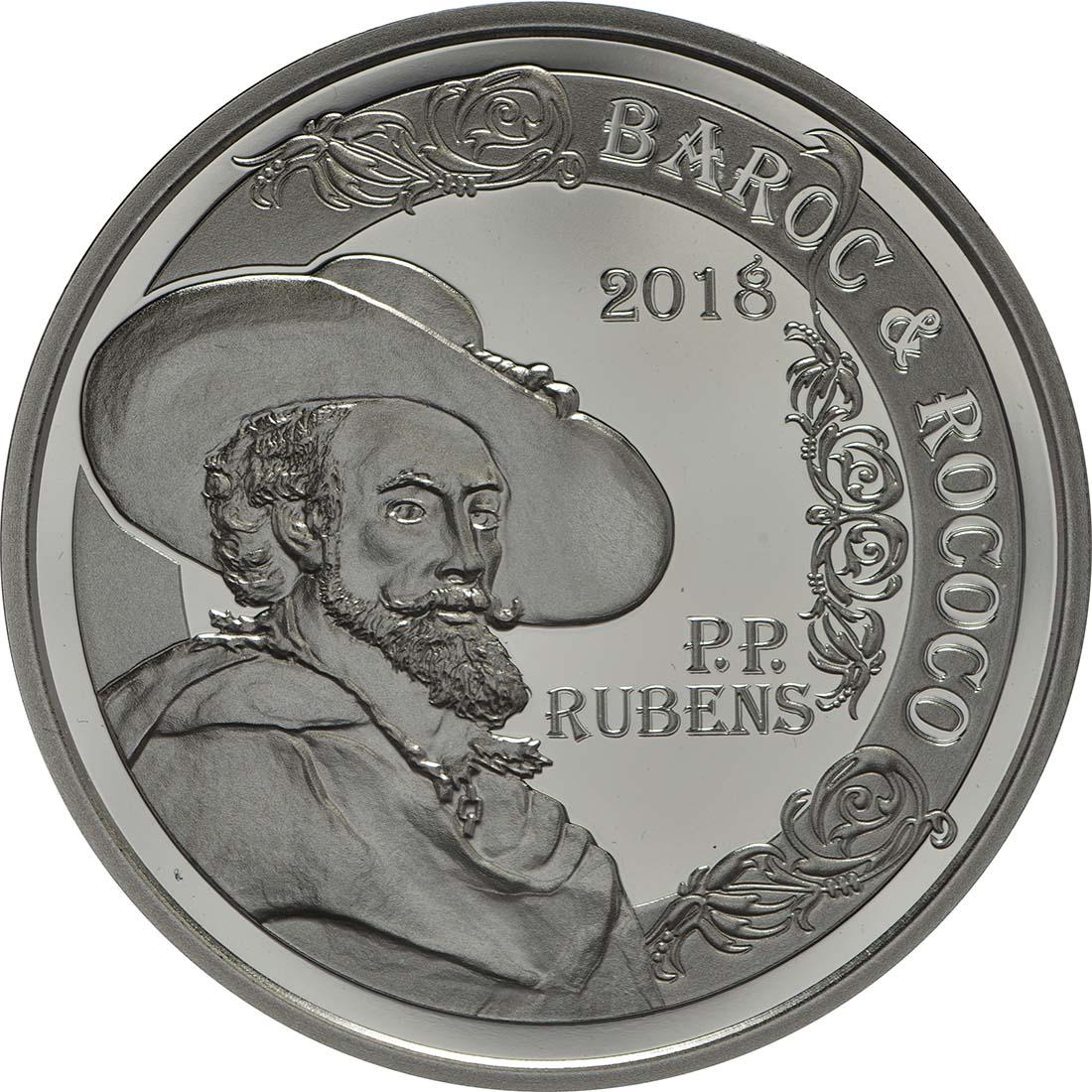 Vorderseite:Belgien : 10 Euro Rubens  2018 PP