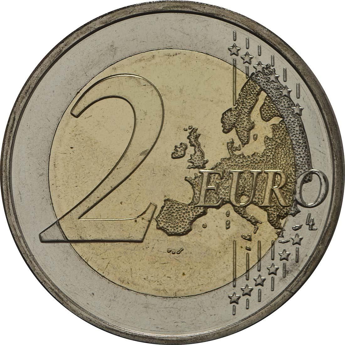 Bild der Vorderseite :Finnland - 2 Euro Koli Nationalpark  2018 bfr