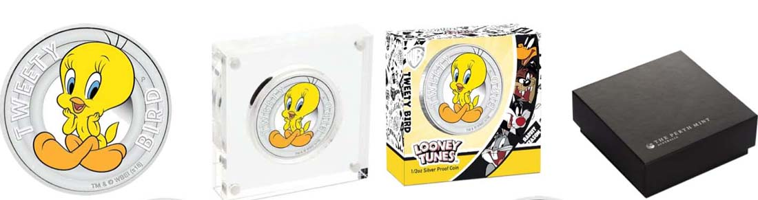 Tuvalu : 50 Cent Tweety Bird- Looney Tunes  2018 PP