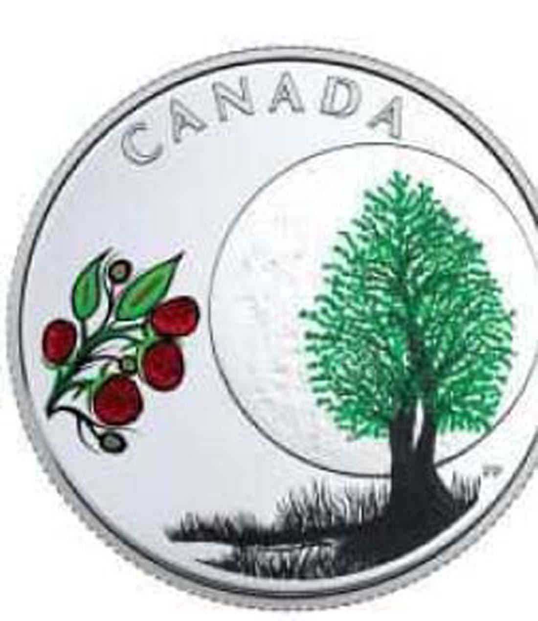 Lieferumfang:Kanada : 3 Dollar Raspberry Moon - Die 13 Lehren von Grandm. Moon  2018 PP