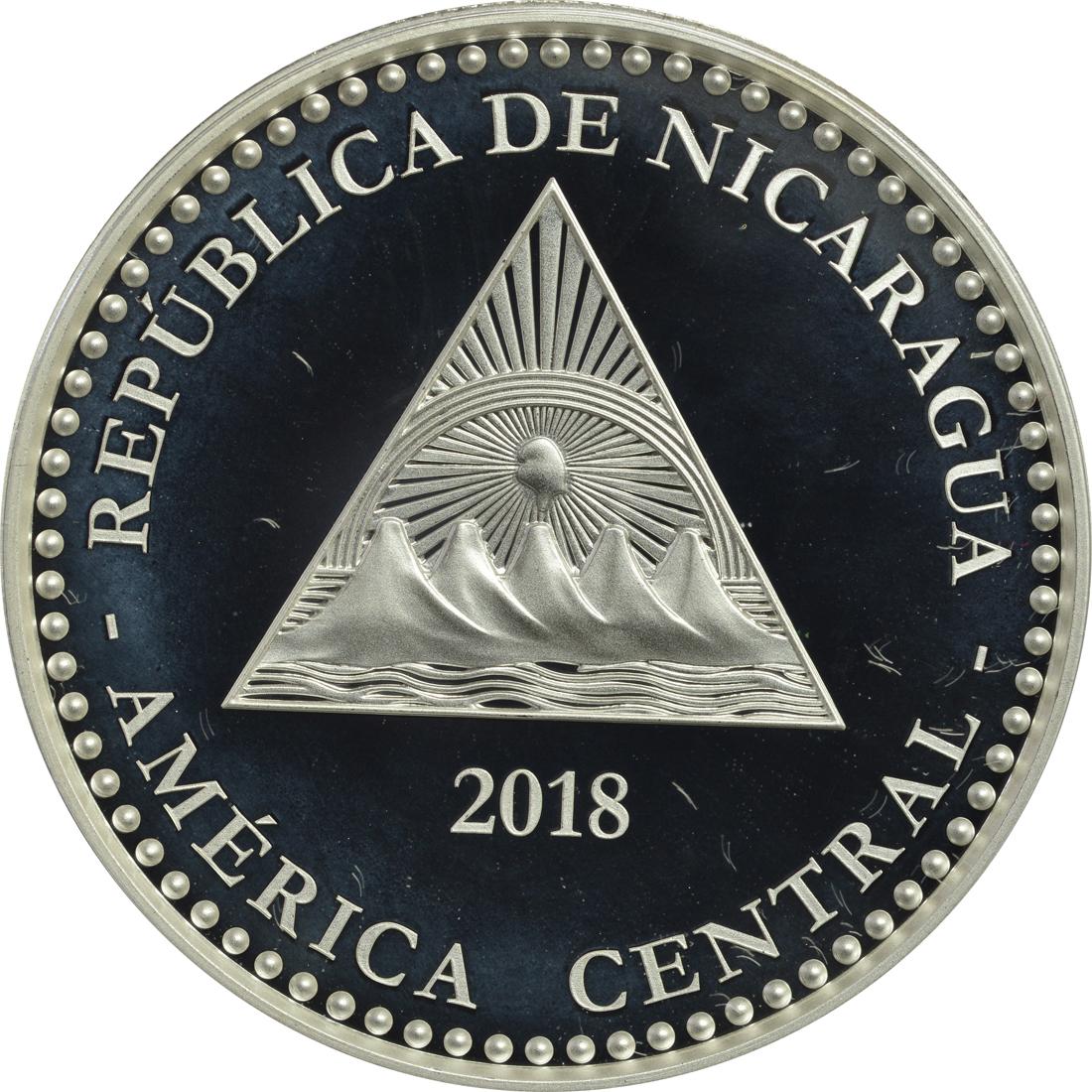 Rückseite:Nikaragua : 100 Cordobas Faultier - Wildlife of Nicaragua  2018 PP