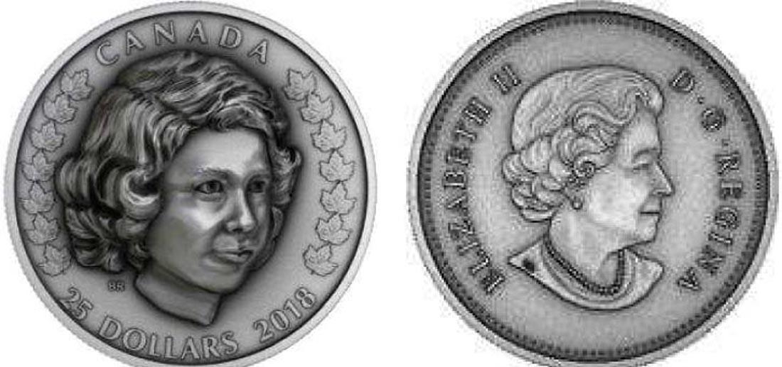 Kanada : 25 Dollar Elizabeth II-Die junge Prinzessin  2018 PP