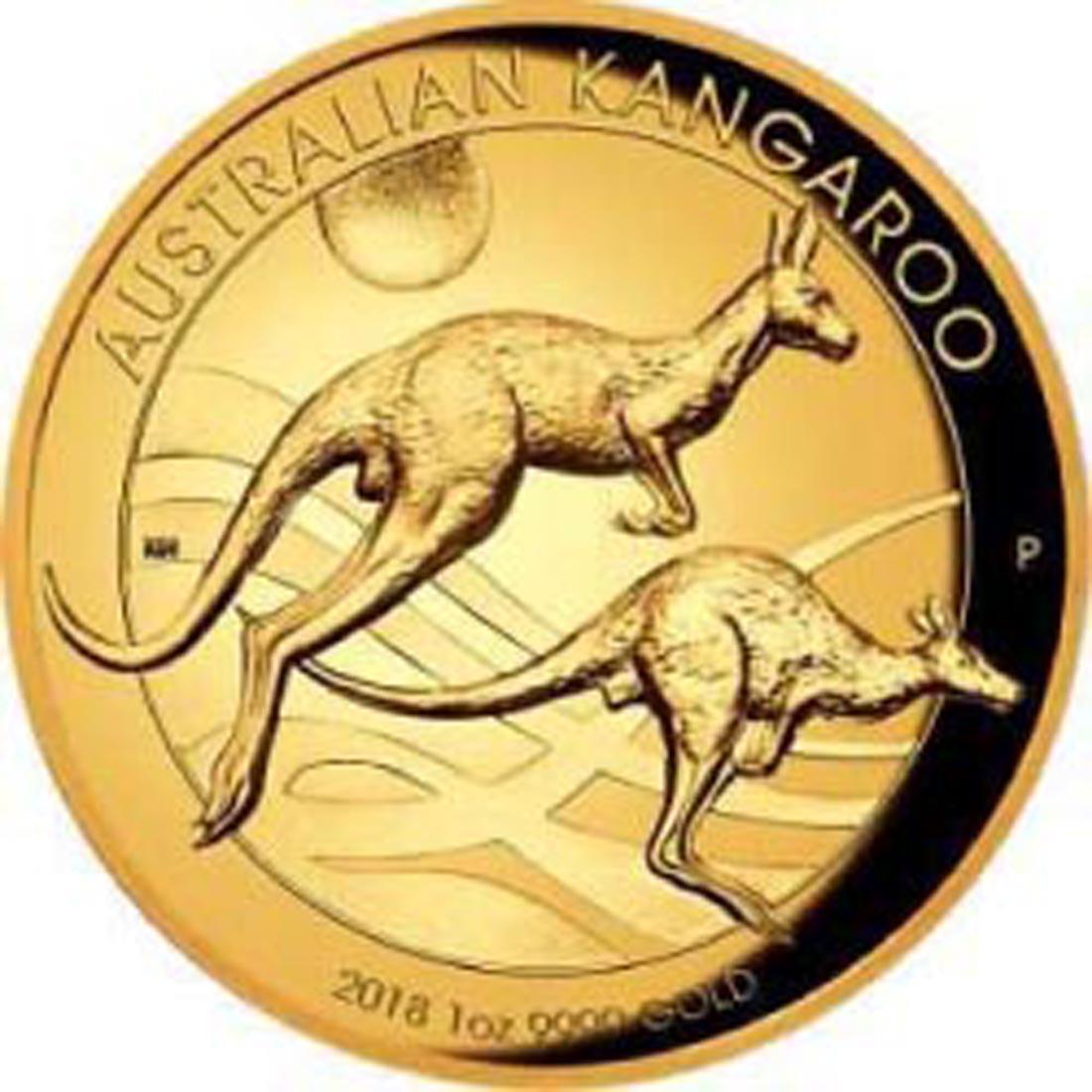 Übersicht:Australien : 100 Dollar Känguru Highrelief  2018 PP