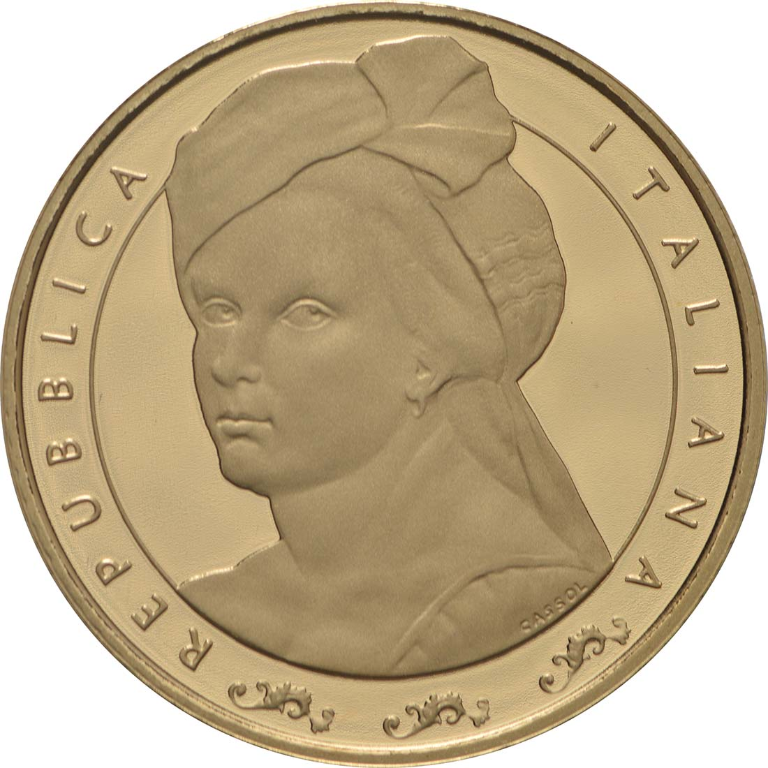Vorderseite:Italien : 20 Euro Artemisia Gentileschi  2018 PP