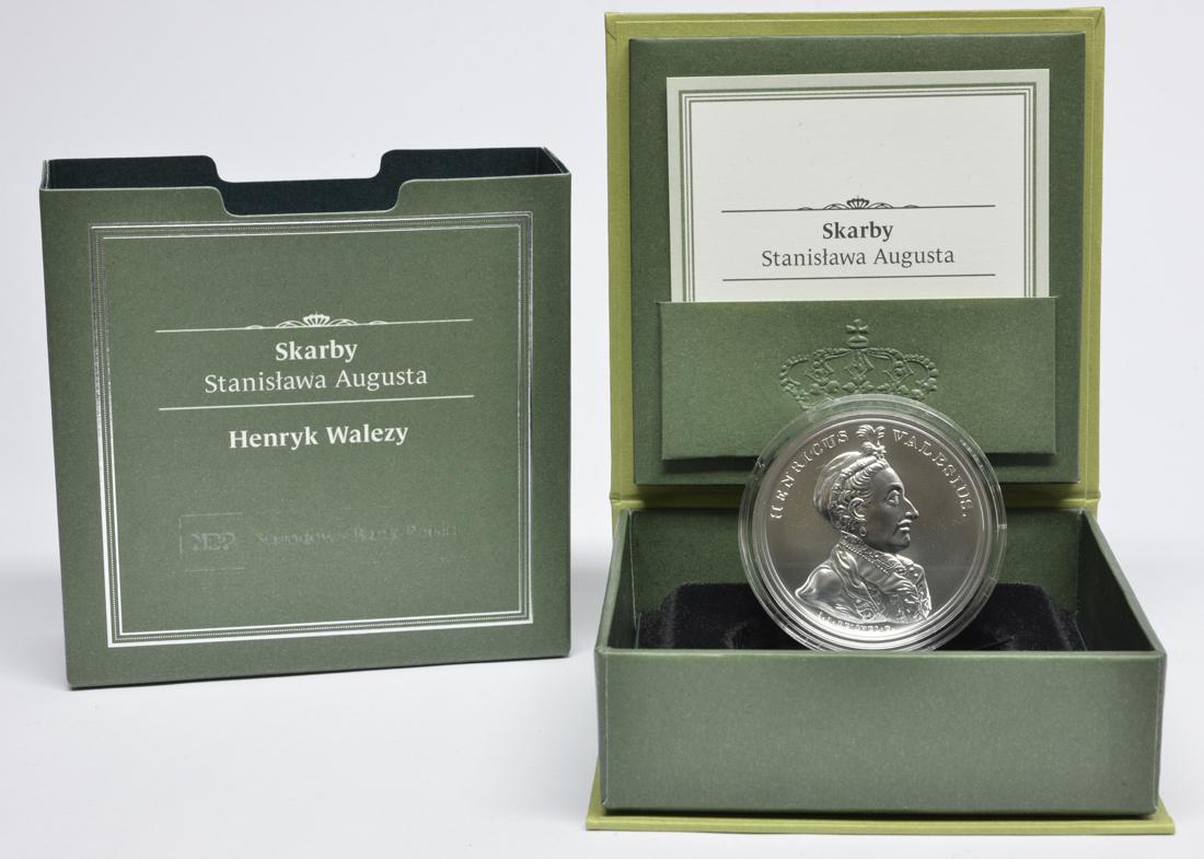 Übersicht:Polen : 50 Zloty Schätze von Stanislaw August - Henri de Valois  2018 Stgl.
