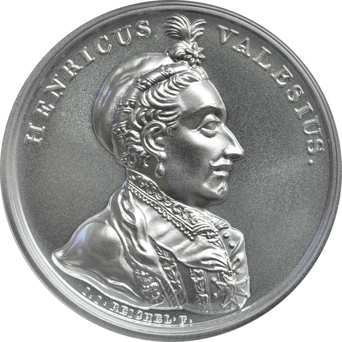 Vorderseite:Polen : 50 Zloty Schätze von Stanislaw August - Henri de Valois  2018 Stgl.