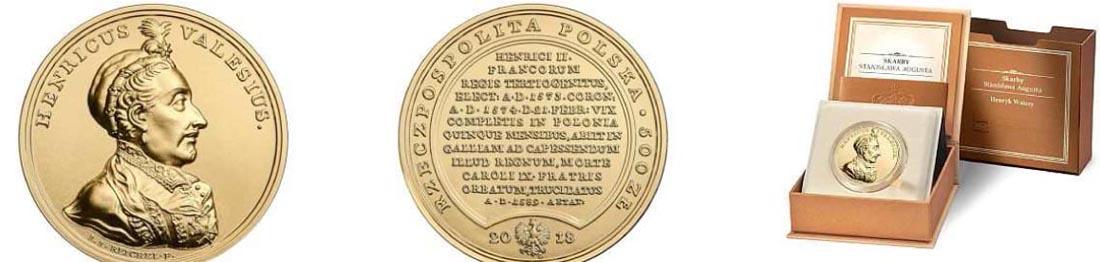 Übersicht:Polen : 500 Zloty Schätze von Stanislaw August - Henri de Valois  2018 Stgl.