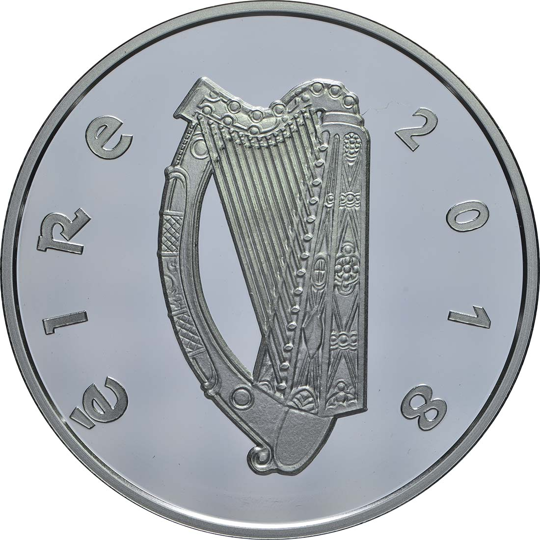 Rückseite:Irland : 15 Euro Rory Gallagher  2018 PP