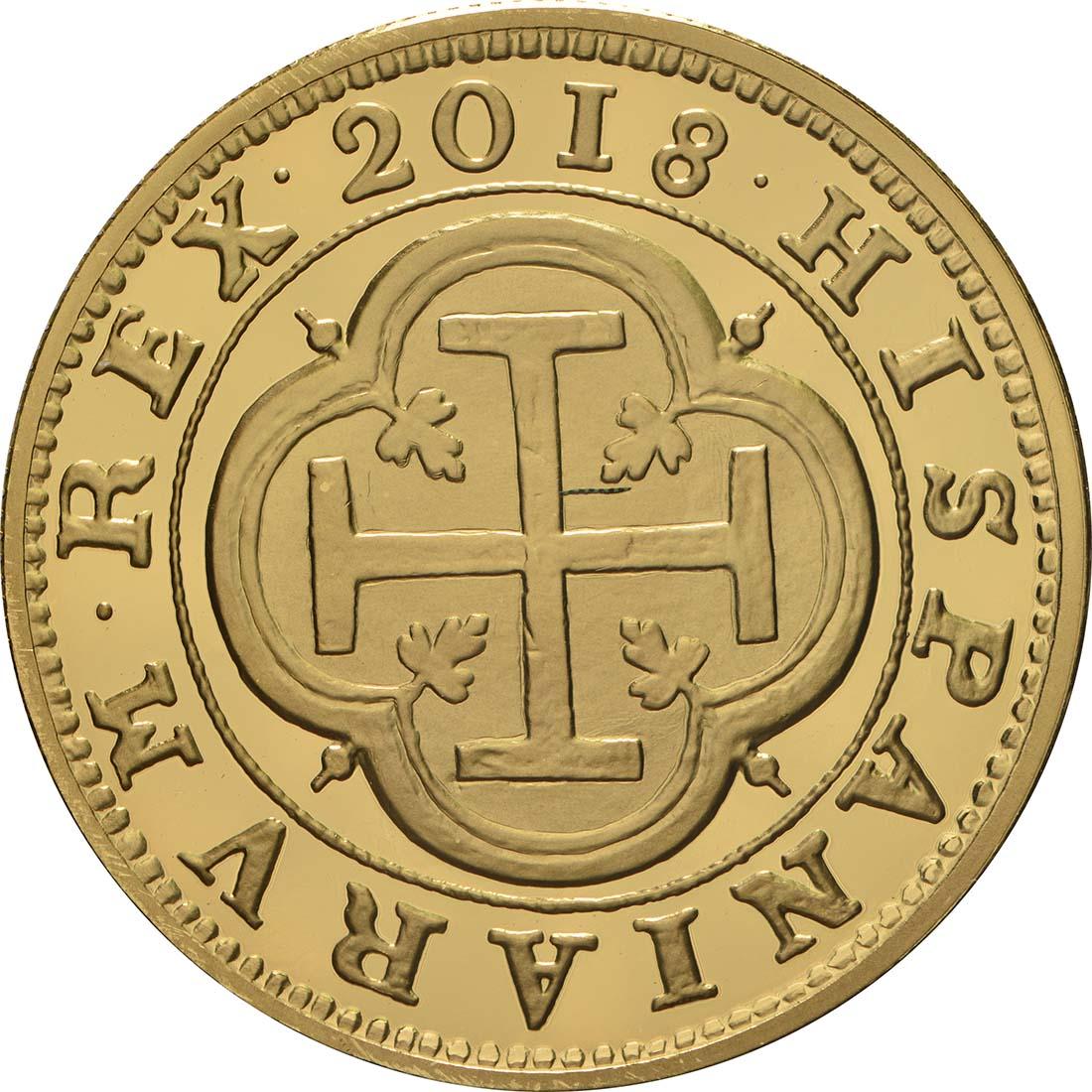 Vorderseite:Spanien : 100 Euro Philip III.  2018 PP