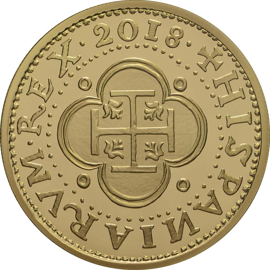Vorderseite:Spanien : 200 Euro Philip II.  2018 PP
