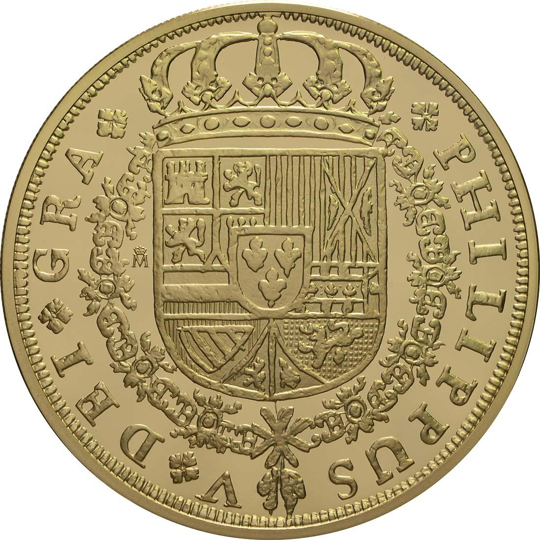Rückseite:Spanien : 400 Euro Philip V.  2018 PP