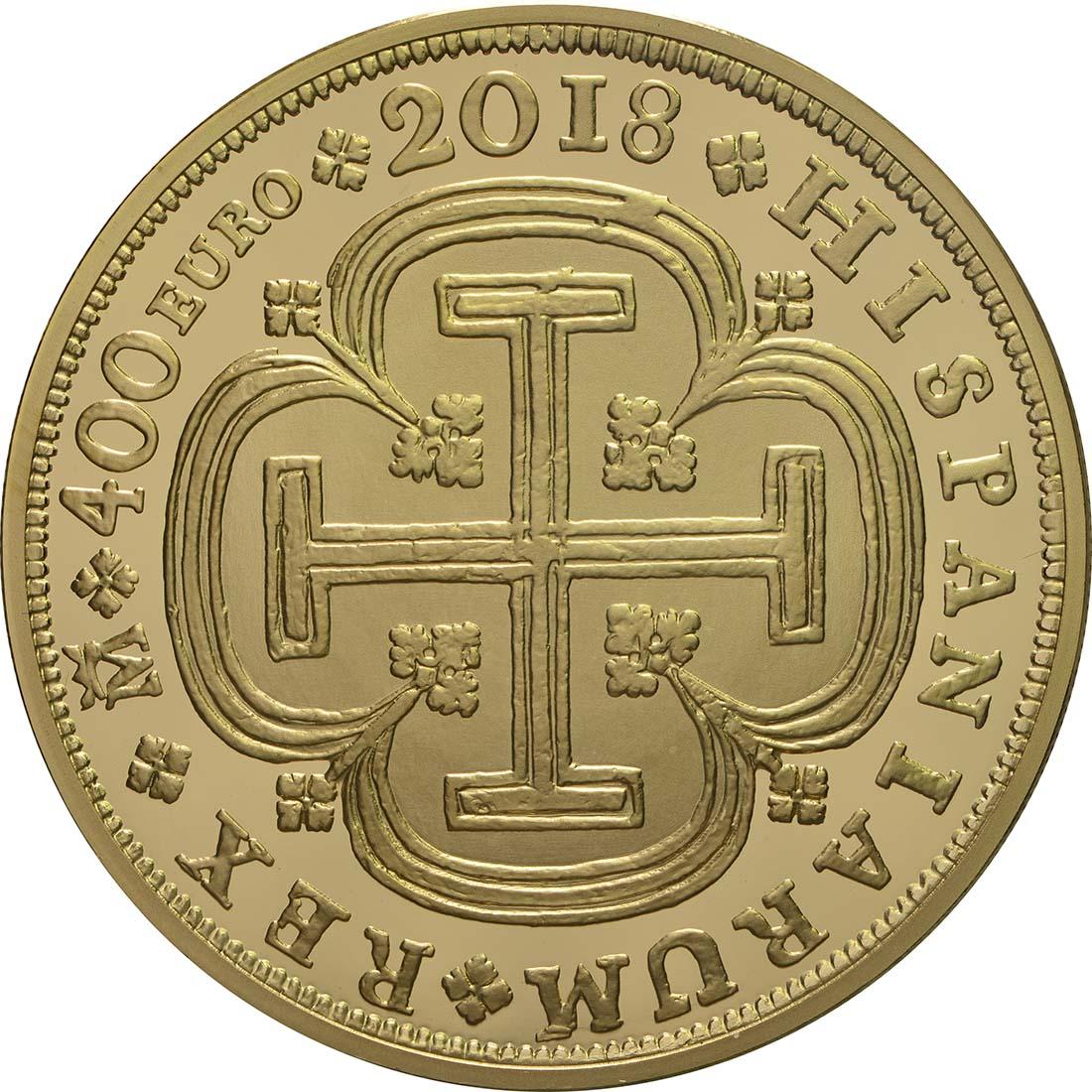 Vorderseite:Spanien : 400 Euro Philip V.  2018 PP