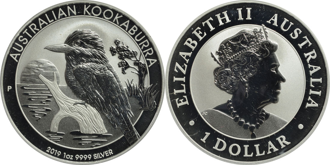 Lieferumfang:Australien : 1 Dollar Kookaburra  2019 Stgl.