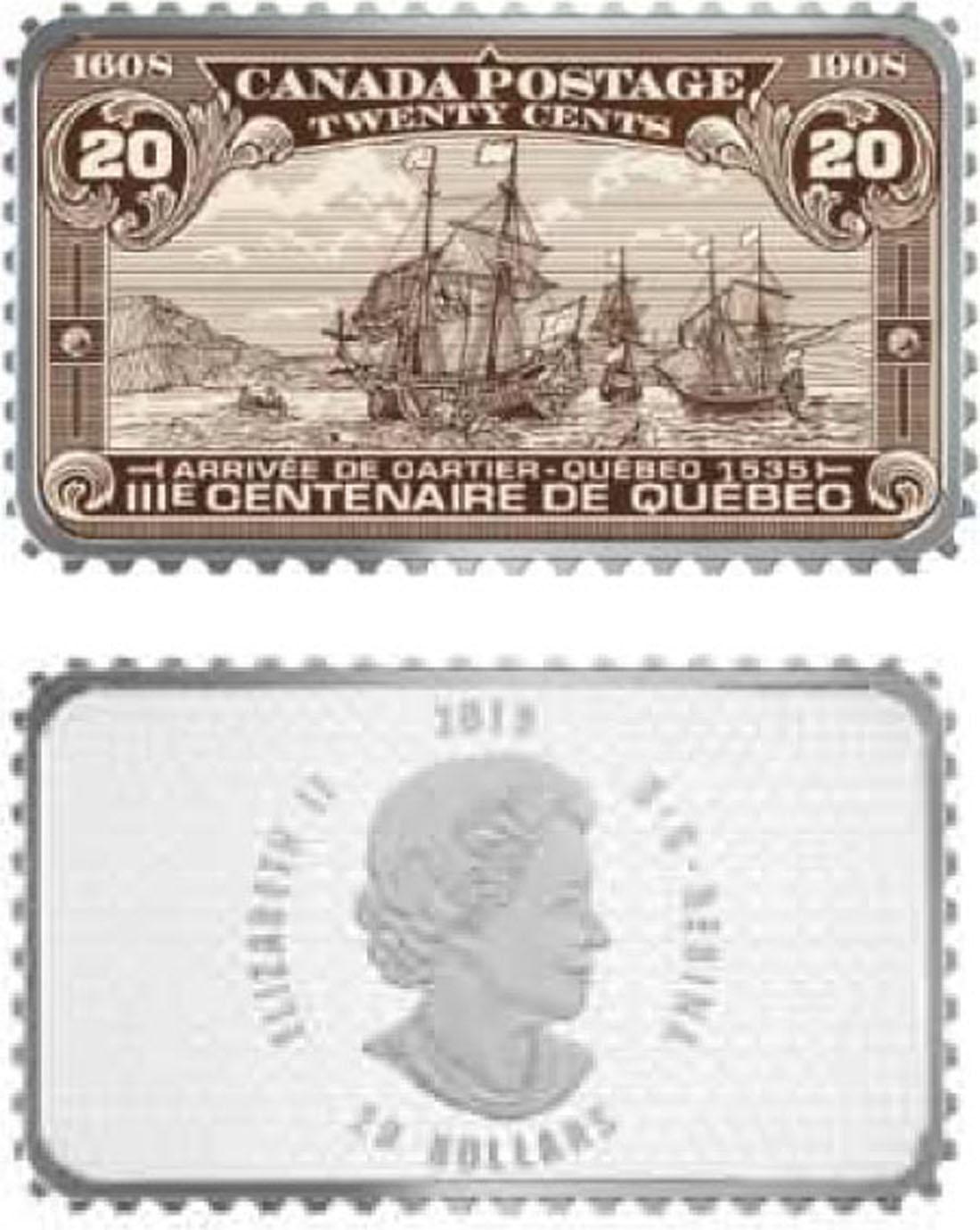 Lieferumfang:Kanada : 20 Dollar Ankunft von Cartier in Quebec 1535 -  2018 PP